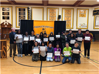 Congratulations To The Students Who Received Perfect Attendance photo