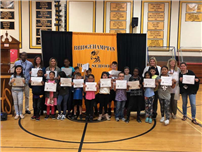 PBIS Character and Student Of The Month Award Assembly photo  thumbnail95670